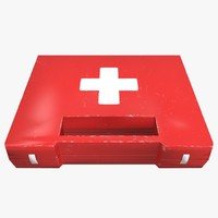 medkit kit 3d obj