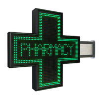 pharmacy sign 3d max