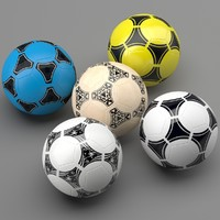 3d soccer ball 5 model