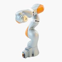 3d kuka iiwa robot industrial