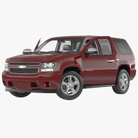 chevrolet tahoe 2015 rigged 3d model