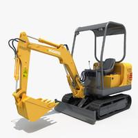 max excavator small