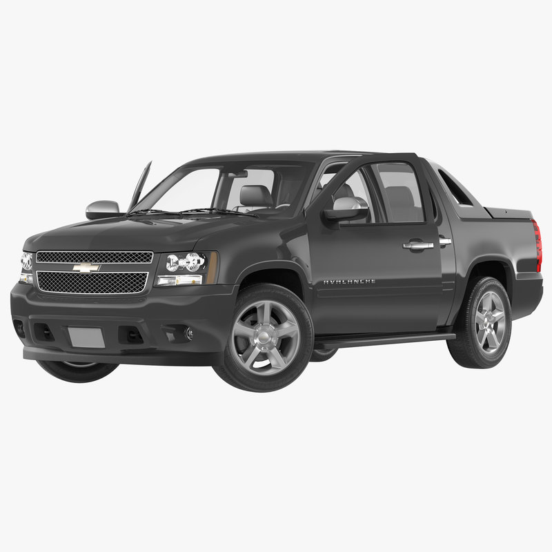 Chevrolet Avalanche 2015 Rigged 3d model 000.jpg