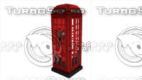 british phone booth telephone max