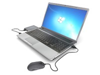 3d model laptop external hard