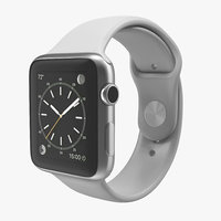 3d model apple watch sport band