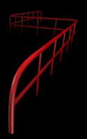 3d handrail hand rail