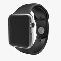 3d apple watch sport band