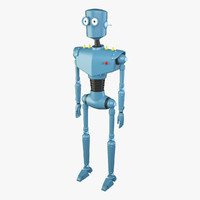 3d cartoon robot