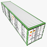 iso open shipping container