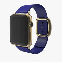 3dsmax apple watch gold 42mm