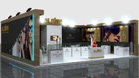 3d fair stand - albina model