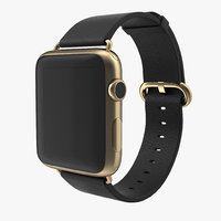 apple watch classic buckle c4d