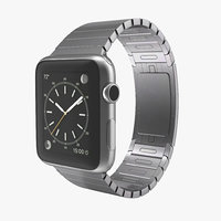 apple watch link bracelet obj