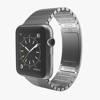 apple watch link bracelet 3d max
