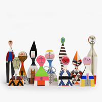 Vitra Wooden Dolls Part 2 (#12-22)