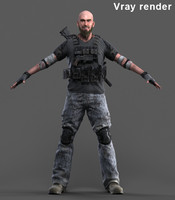 - mercenary 3 3d obj