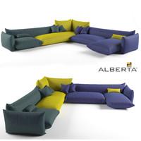 sofa realistic super max