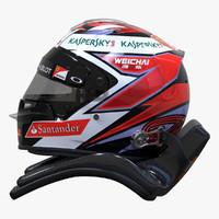 Kimi Raikkonen 2015 Style Racing Helmet