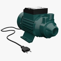 electric water pump 1 3d model