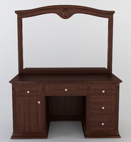 3d max dressing table