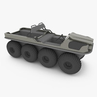 3d amphibious vehicle argo