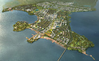 3d city planning 039 model