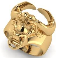 ring men taurus 3d model