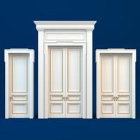 classic doors hermitage 3d max