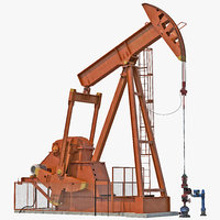 oil pump jack rigged max