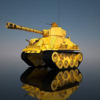 3d tank hell! model