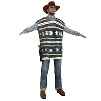 obj cowboy hat