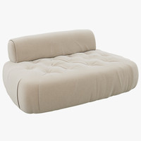 3dsmax baxter mademoiselle small sofa