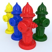 new hydrant 3d model