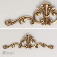 carved scroll cnc 3d x