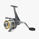 fishing reel 3D models