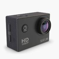 action hd camera sj4000 3d model