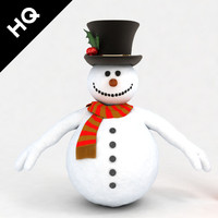 3ds max snowman scarf