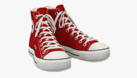 Converse All Star Sneakers ( Red )