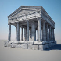 Greek Ruins 3D models