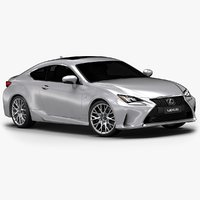 3ds max 2015 lexus rc interior