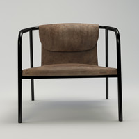 Dezeen Leather Chair