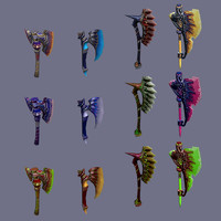 blade fantasy 3d max