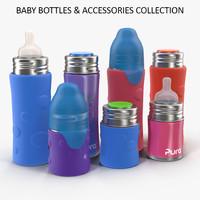 3ds max pura kiki baby bottles