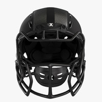 3d xenith epic football helmet model