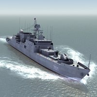 3d project 11356m class frigate