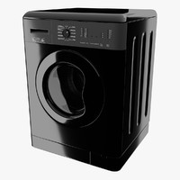 washing machine 3d obj
