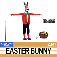 3ds mozartland easter bunny