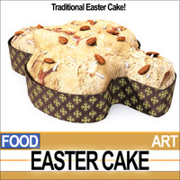 traditional easter cake 3ds