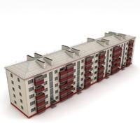 soviet house 3d model